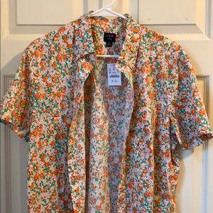 J.Crew Floral Casual Shirt